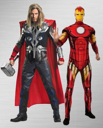 Thor & Iron Man