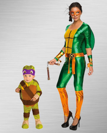 Michelangelo and Donatello Costumes