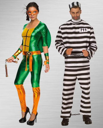 Michelangelo and Criminal Costumes
