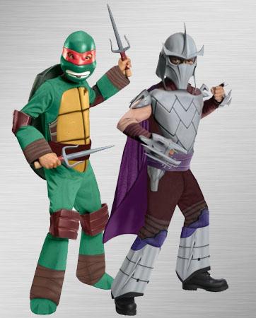 Raphael and Shredder Costumes