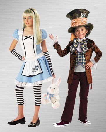 Alice and Mad Hatter Kids