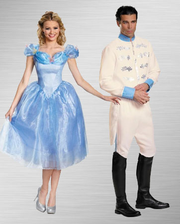 Cinderella & Prince Charming costumes