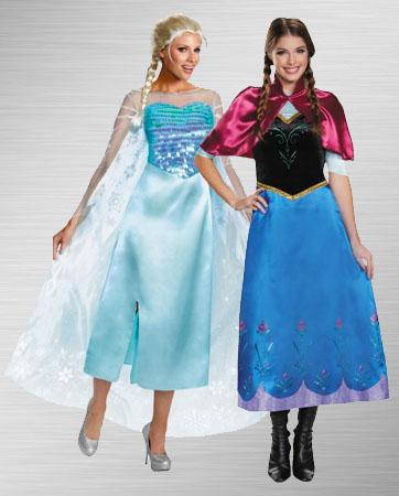 Elsa & Anna costume