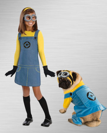 Minions Girl & Dog