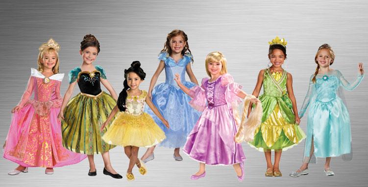 Girls Princess Group