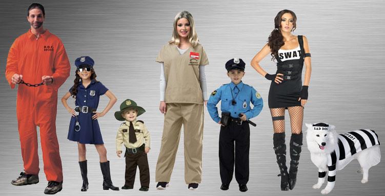 Police & Criminal Costume Ideas