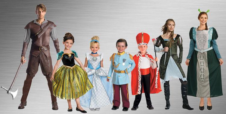 Prince & Princess Costume Ideas