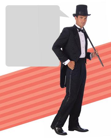 Man's Tuxedo Bio