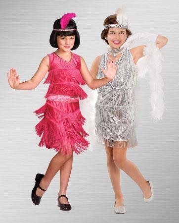 Silver Flapper & Pink Flapper