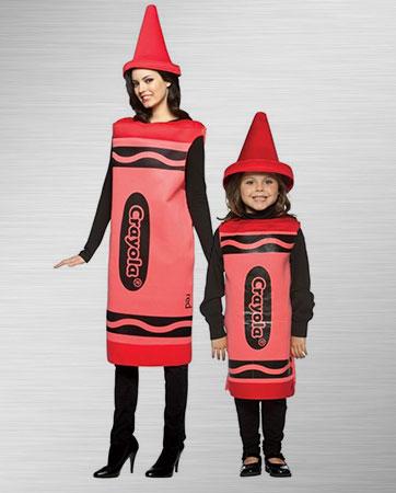Crayola Crayon Family Costumes