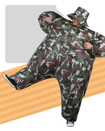 Inflatable Camo Bio