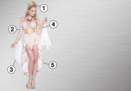 Goddess Ultimate Costume