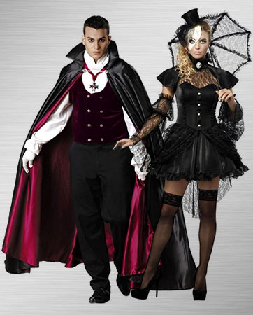 Victorian Doll & Gothic Vampire Costume