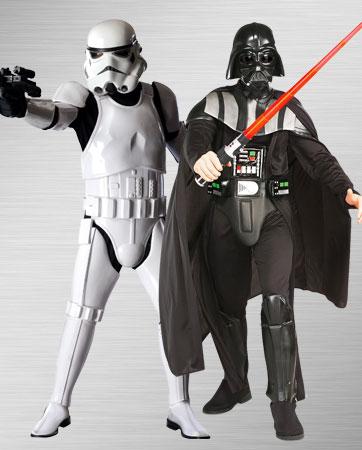 Darth Vader & Stormtrooper costumes
