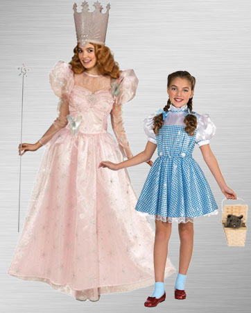 Glinda & Girls Dorothy Costume