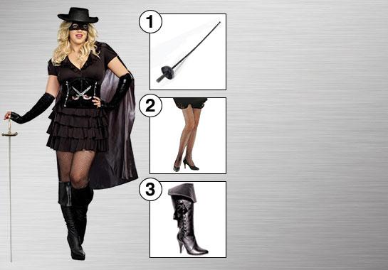 Double-Edged Diva Zorro Enhance Your Style