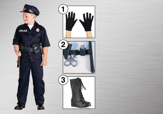 Kids Police Officer Enhance Your Style
