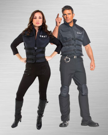 Couples SWAT Costume