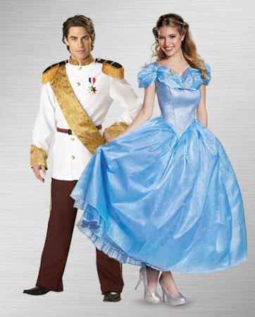Prince Charming & Cinderella Costume