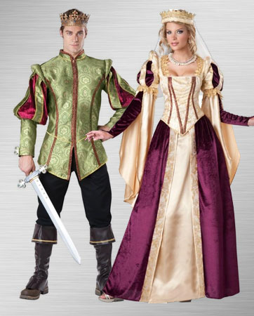 Renaissance Prince & Princess Costume