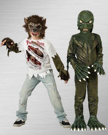 Swamp Moster & Werewolf