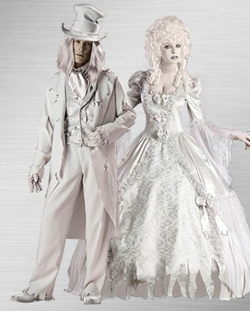 Couples Ghost Costumes