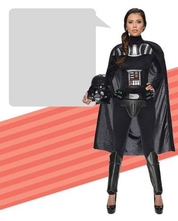 Womens Darth Vader Bio