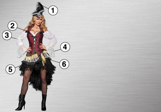 Sexy Pirate Ultimate Costume