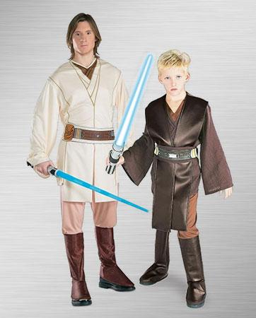 Obi-Wan & Kids Anakin Costume