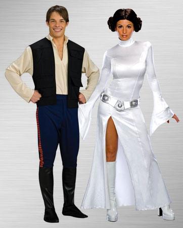 Princess Leia & Han Solo Costumes