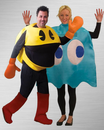 Pac-Man & Inky Costumes
