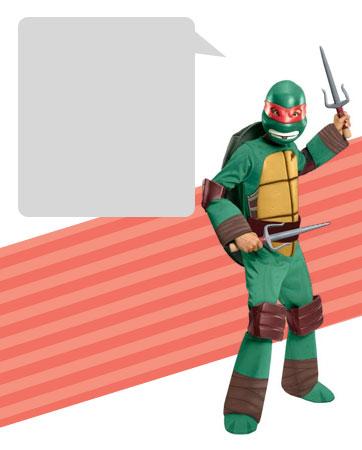 TMNT Raphael Bio