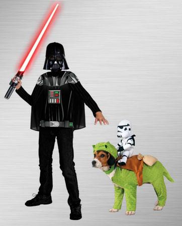 Darth Vader & Dewback Rider Costume