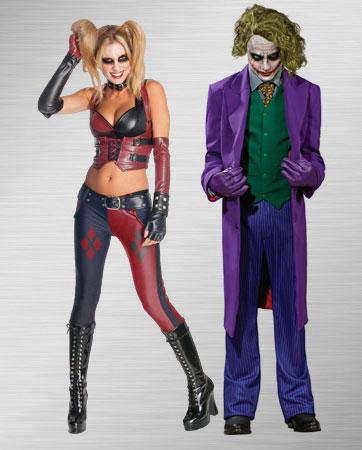 Harley Quinn & Joker costumes
