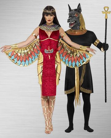 Anubis & Goddess Isis
