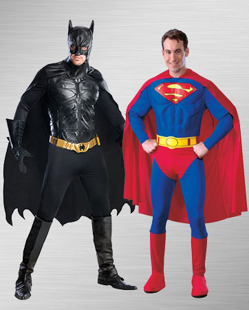 Superman & Batman Costumes