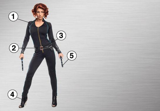 Black Widow Ultimate Costume