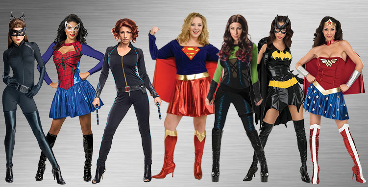 Female Superheroes Group