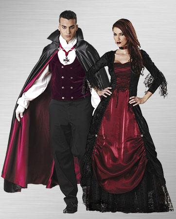 Gothic Vampira & Vampire Costume