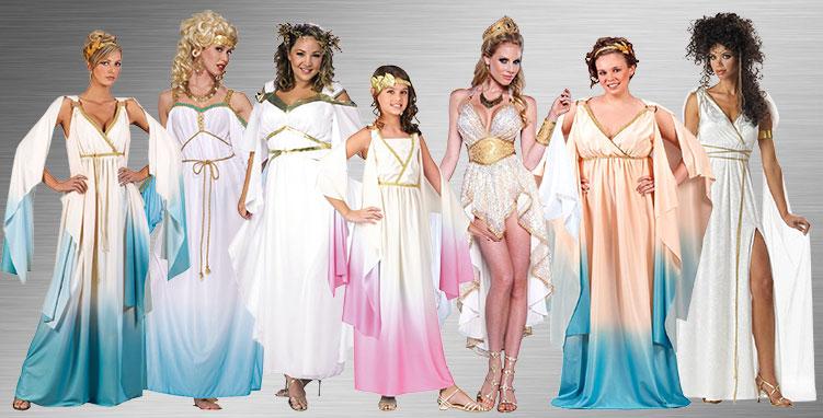 Greek Goddess Costume Ideas