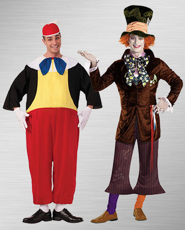 Tweedle Dum & Mad Hatter