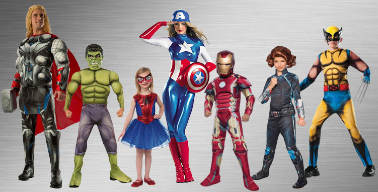 Marvel Group Costumes