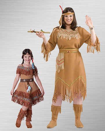 Indian Maiden  & Pocahontas