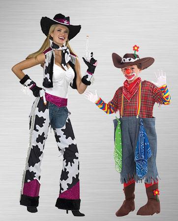 Girls Cleo & Mummy costumes