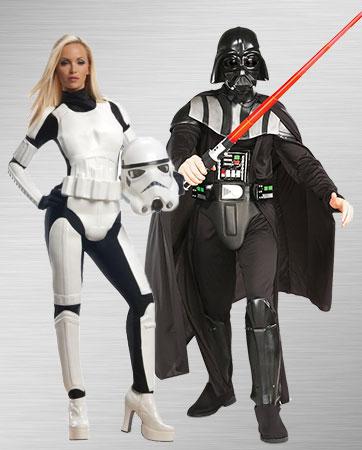 Stormtrooper & Darth Vader Costumes