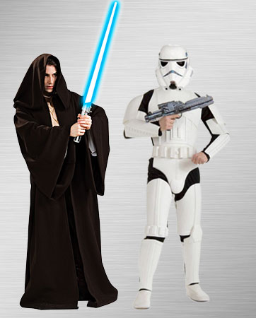 Stormtrooper & Jedi Costumes