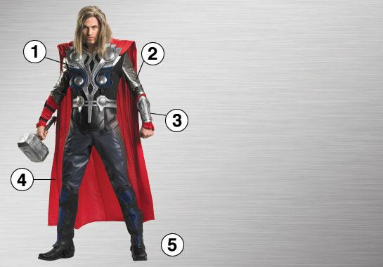 Thor Ultimate Costume