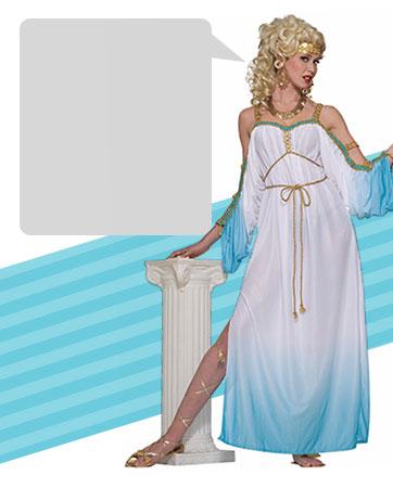 Classic Grecian Goddess Bio