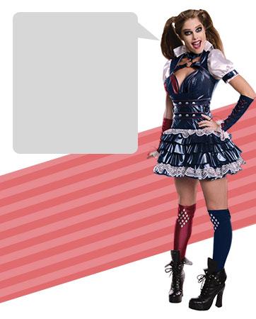 Sassy Harley Quinn bios