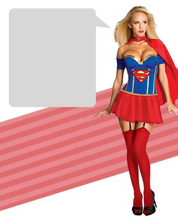 Sexy Supergirl Bio